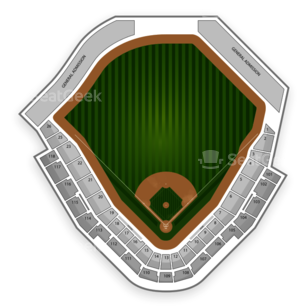 Salt Lake Bees Seating Chart