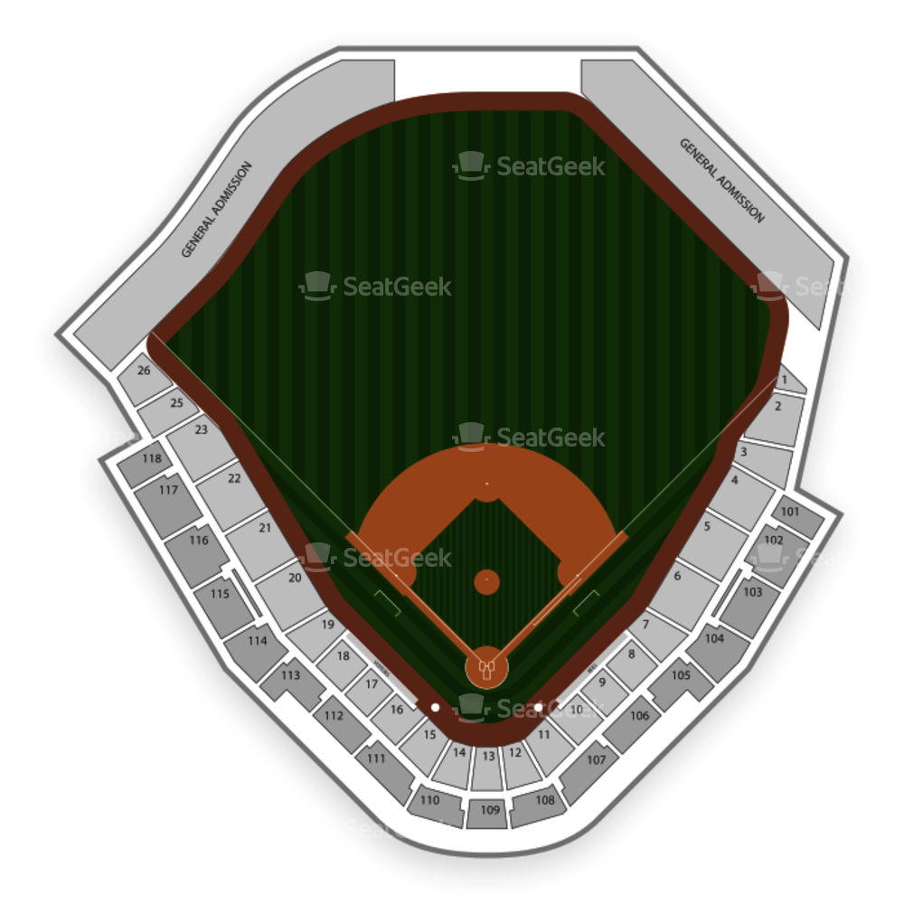 Smith's Ballpark Seating Chart MLB