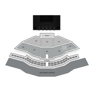 Gorge Amphitheatre Seating Chart Music Festival