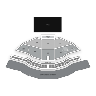 Gorge Amphitheatre Seating Chart Theater