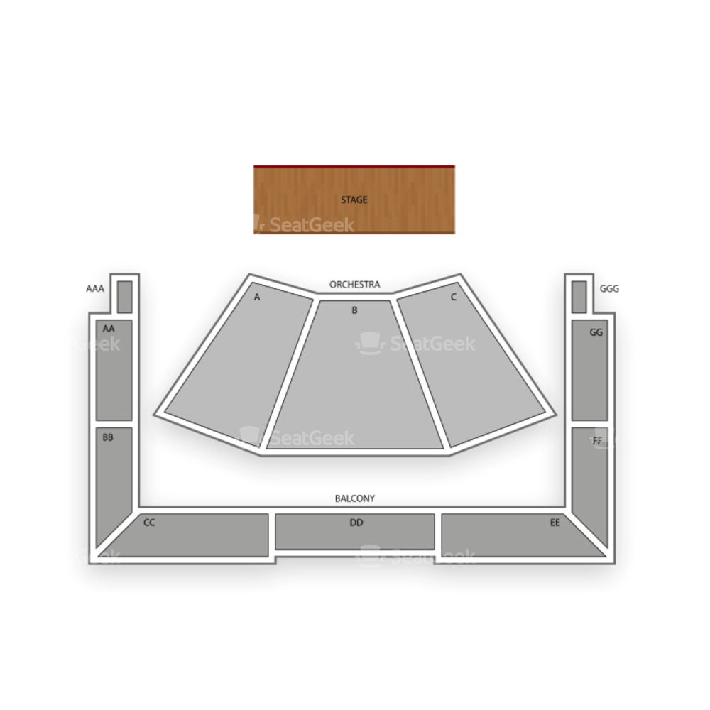 Ruth Finley Person Theater Seating Chart Dance Performance Tour