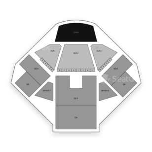 Jacobs Pavilion at Nautica Seating Chart Music Festival