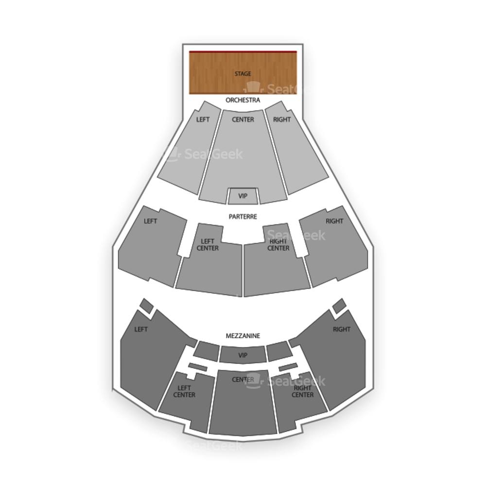 Grand Theater at Foxwoods Resort & Casino Seating Chart Concert