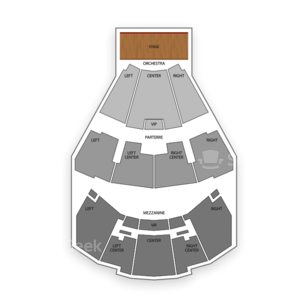 The Grand Theater at Foxwoods Resort Casino Seating Chart Literary