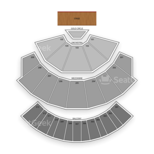 The Axis at Planet Hollywood Resort and Casino Seating Chart Concert