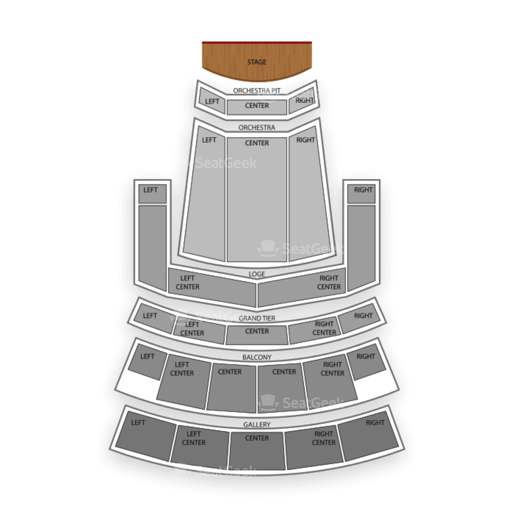 Orpheum Theater Seating Chart Dance Performance Tour