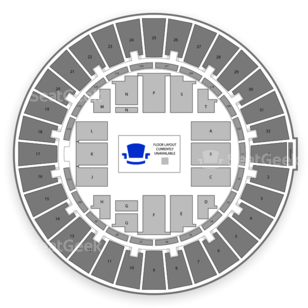 Blaisdell Arena Seating Chart Comedy