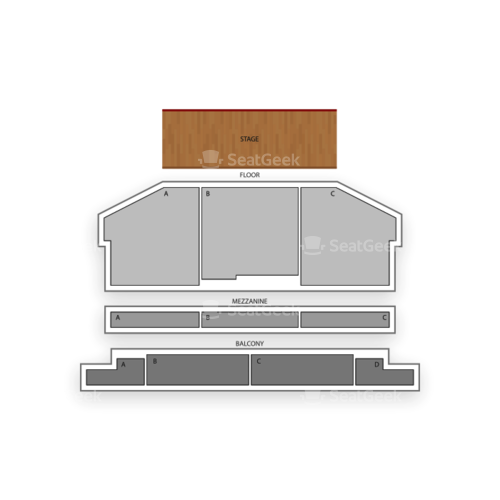 Stiefel Theatre Seating Chart Concert