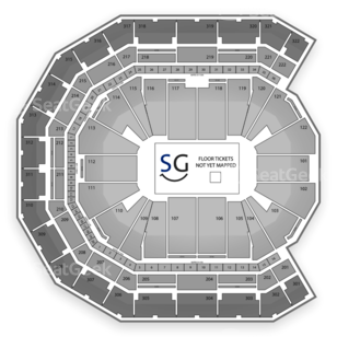 Pinnacle Bank Arena Seating Chart Concert
