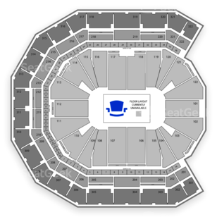 Pinnacle Bank Arena Seating Chart NBA