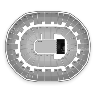Lawrence Joel Coliseum Seating Chart Concert