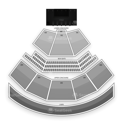 Shoreline Amphitheatre Seating Chart