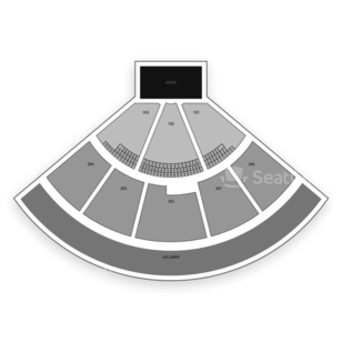 Shoreline Amphitheatre Seating Chart Comedy