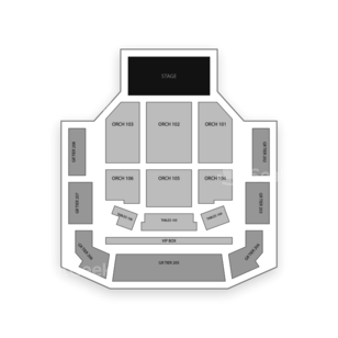 Revention Music Center Seating Chart Comedy