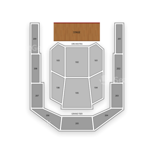Bayou Music Center Seating Chart Comedy