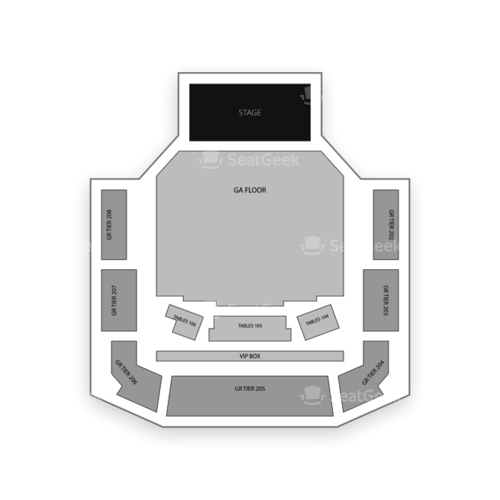 Bayou Music Center Seating Chart Concert