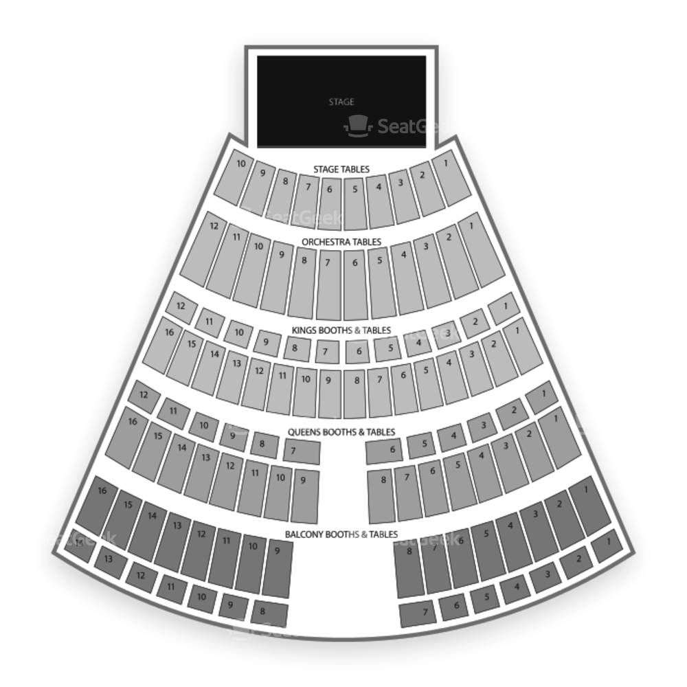 Turning Stone Resort Casino Seating Chart Dance Performance Tour