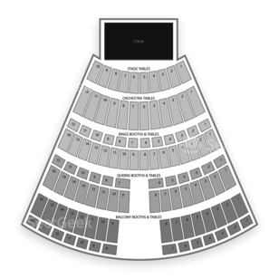 Turning Stone Resort Casino Seating Chart Concert