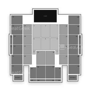 Turning Stone Casino Seating Chart Concert