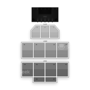 Turning Stone Casino Seating Chart Theater