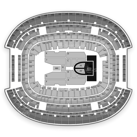 Cowboys Stadium seating chart Taylor Swift