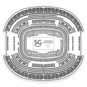 AT&T Stadium Seating Chart Theater