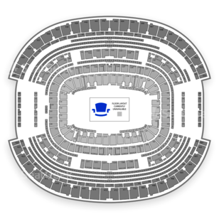 AT&T Stadium Seating Chart Auto Racing