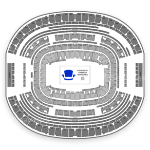 AT&T Stadium Seating Chart Monster Truck