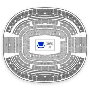 AT&T Stadium Seating Chart Club Passes