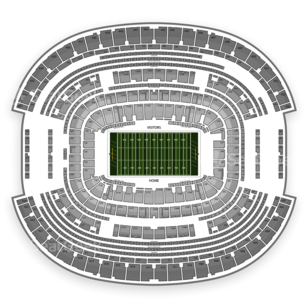 AT&T Stadium Seating Chart NCAA Football