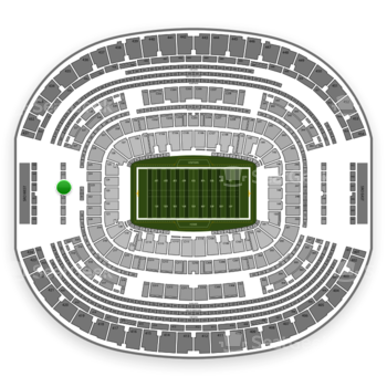 Dallas Cowboys at AT&T Stadium Section 324 View