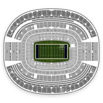 Dallas Cowboys at AT&T Stadium Section 212 View