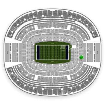 Dallas Cowboys at AT&T Stadium Section 249 View