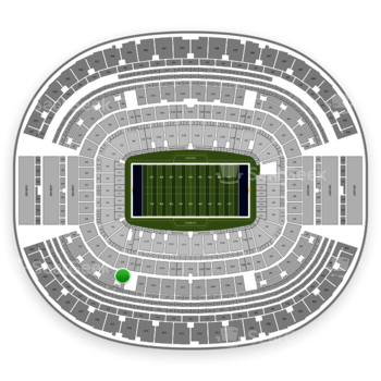 Dallas Cowboys at AT&T Stadium Section 316 View