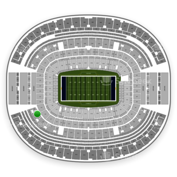 Dallas Cowboys at AT&T Stadium Section 319 View