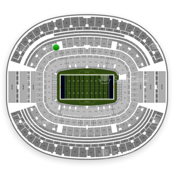 Dallas Cowboys at AT&T Stadium Section 330 View