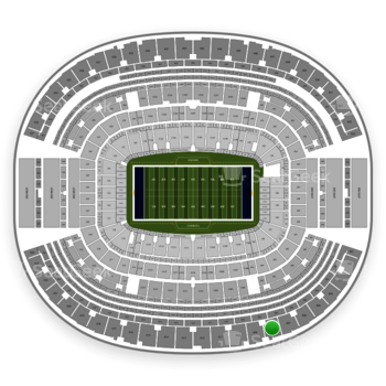 Dallas Cowboys at AT&T Stadium Section 408 View