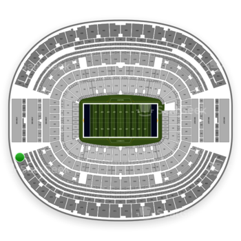 Dallas Cowboys at AT&T Stadium Section 424 View