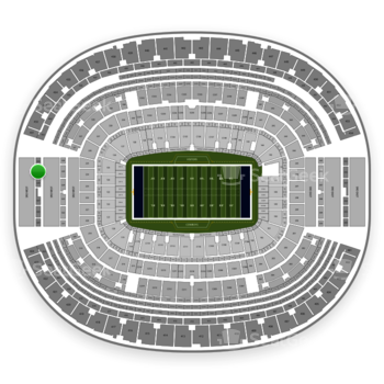 Dallas Cowboys at AT&T Stadium Section 429 View