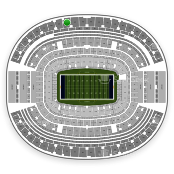 Dallas Cowboys at AT&T Stadium Section 440 View