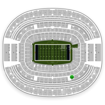 Dallas Cowboys at AT&T Stadium Section 305 View