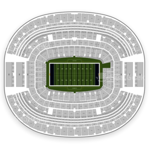 AT&T Stadium Seating Chart NFL
