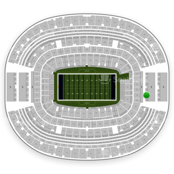 Dallas Cowboys at AT&T Stadium Section 349 View