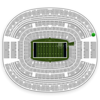 Dallas Cowboys at AT&T Stadium Section 454 View