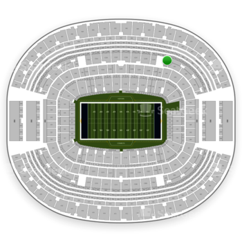 NFL at AT&T Stadium Section 341 View