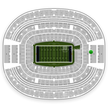 NFL at AT&T Stadium Section 347 View