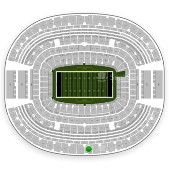 NFL at AT&T Stadium Section 412 View