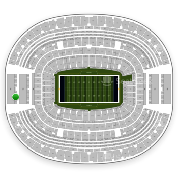 NFL at AT&T Stadium Section 426 View