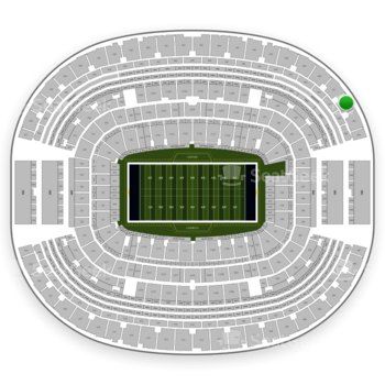 NFL at AT&T Stadium Section 452 View