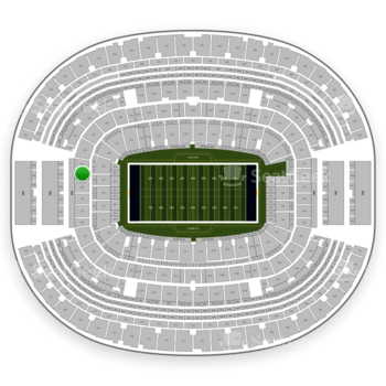 Dallas Cowboys at AT&T Stadium Section 224 View